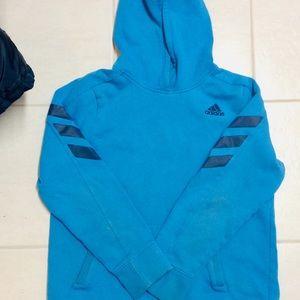 Adidas boys sweatshirt blue